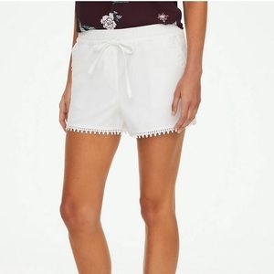 Loft Outlet Lace Trim Shorts